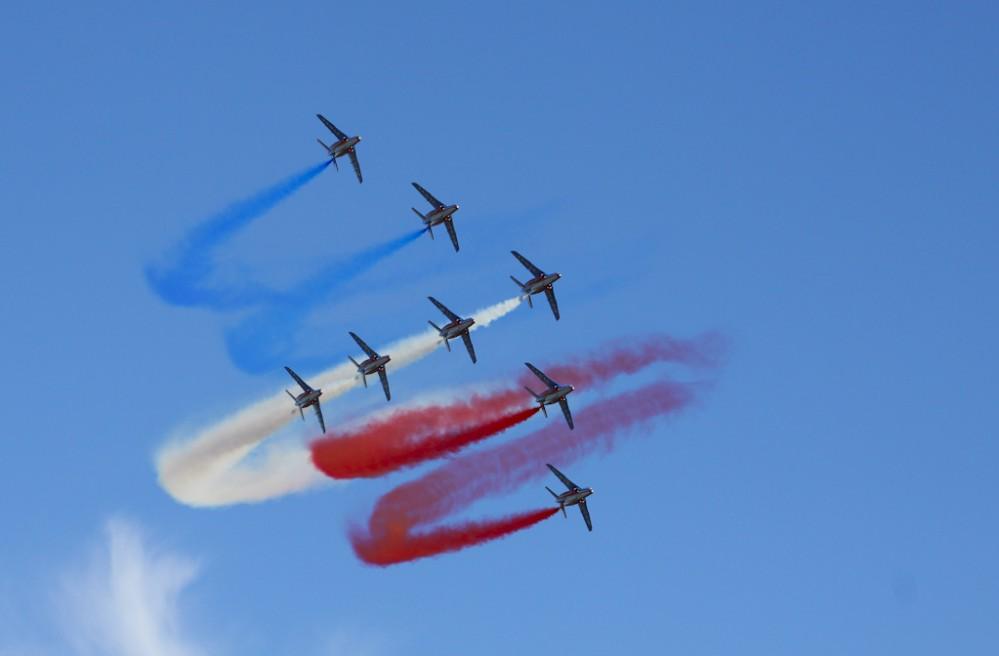 La patrouille de France. Fantastic!